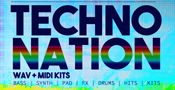 Techno Nation - WAV & MIDI Kits