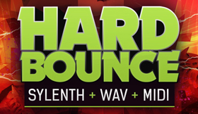 Hard Bounce - Sylenth + WAV + MIDI