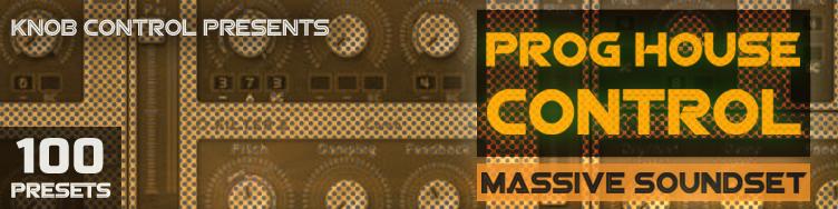 Prog House Control - Massive Soundset