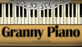 Old Busted Granny Piano